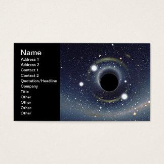 La NASA d'anneau d'Einstein de trou noir Cartes De Visite