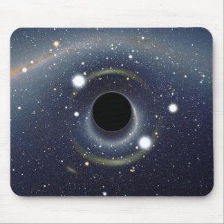 La NASA d'anneau d'Einstein de trou noir Tapis De Souris