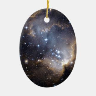 La NASA intelligente d'étoiles de NGC 602 Ornement Ovale En Céramique