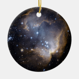 La NASA intelligente d'étoiles de NGC 602 Ornement Rond En Céramique