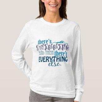 La natation est tout t-shirt