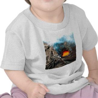 La nature force des volcans de Kilauea Hawaï T-shirt