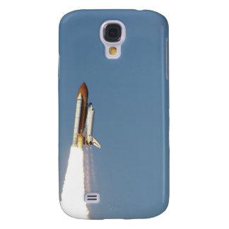 La navette spatiale l'Atlantide enlève 11 Coque Galaxy S4