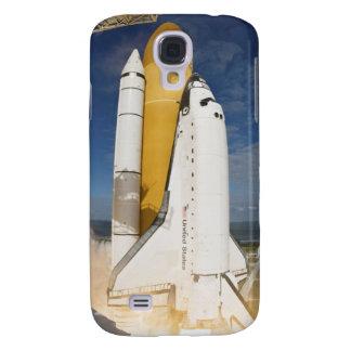 La navette spatiale l'Atlantide enlève 12 Coque Galaxy S4