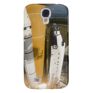 La navette spatiale l'Atlantide enlève 17 Coque Galaxy S4