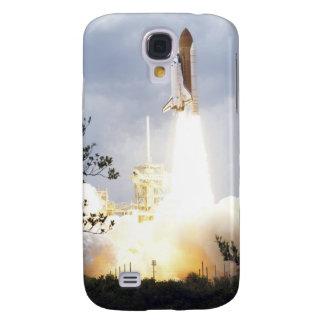 La navette spatiale l'Atlantide enlève 4 Coque Galaxy S4