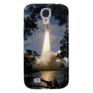 La navette spatiale l'Atlantide enlève 9 Coque Galaxy S4