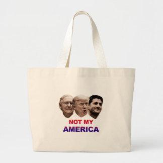 La non mon Amérique Grand Tote Bag