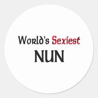 La nonne la plus sexy du monde autocollants