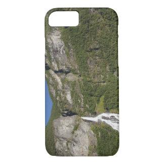 La Norvège, Geirangerfjord (l'UNESCO), Geiranger. Coque iPhone 7