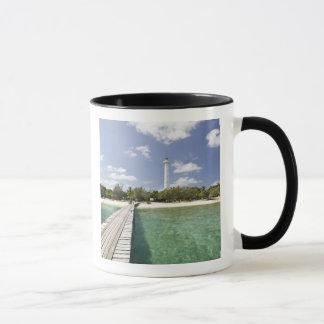 La Nouvelle-Calédonie, îlot d'Amedee. Pilier Mug