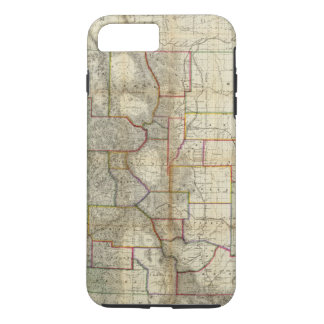 La nouvelle carte de Thayer de l'état du Colorado Coque iPhone 8 Plus/7 Plus