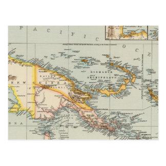 La Nouvelle-Guinée, archipel de Papuan Carte Postale