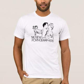 La nouvelle masse de pornographes romantique t-shirt