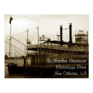 La Nouvelle-Orléans, carte postale de LA