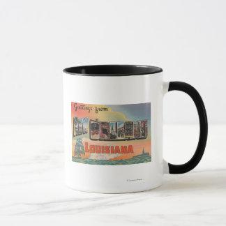 La Nouvelle-Orléans, Louisiane - grandes scènes de Mugs