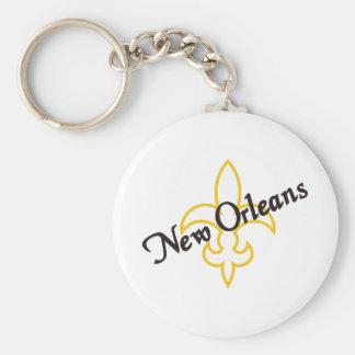 La Nouvelle-Orléans Porte-clé Rond