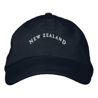 La Nouvelle Zélande a brodé le casquette