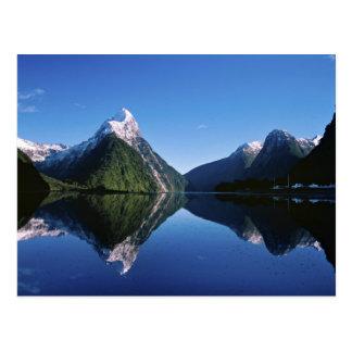 La Nouvelle Zélande, crête de mitre, Milford Carte Postale