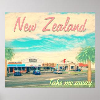 La Nouvelle Zélande m enlèvent Poster