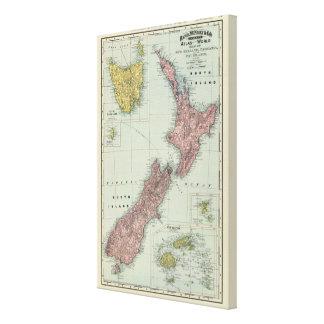 La Nouvelle Zélande, Tasmanie, Fidji Toiles