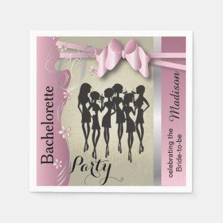 La nuit de filles Party des événements Serviette Jetable