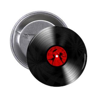 La nuit dernière le DJ a sauvé mon noir de disque Pin's