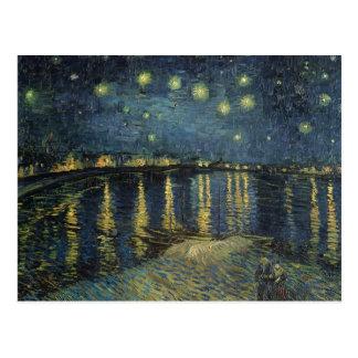 La nuit étoilée, 1888 carte postale