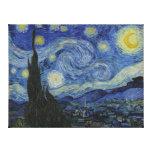 La nuit étoilée - Van Gogh (1888) Toiles Tendues Sur Châssis