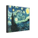 La nuit étoilée Van Gogh a enveloppé la copie de t Impressions Sur Toile