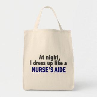 La nuit je m'habille comme l'aide d'une infirmière sacs fourre-tout