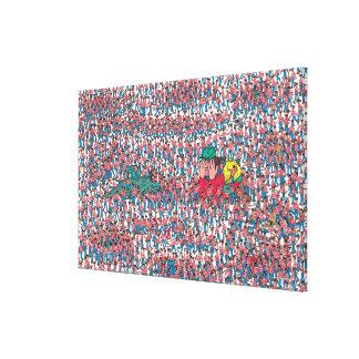 Là où est la terre de Waldo | de Waldos Toile