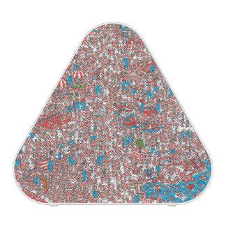 Là où est la terre de Waldo des trames Haut-parleur Bluetooth
