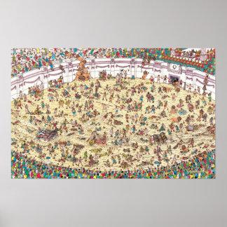 Là où est l'amusement et les jeux de Waldo | à Poster