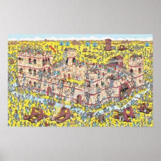 Là où est l'attaque de chevalier de Waldo | Poster