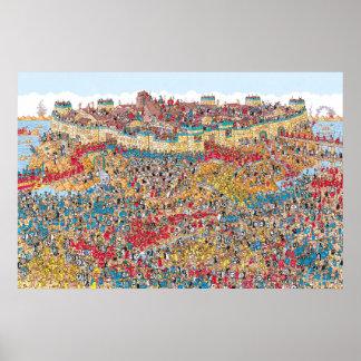 Là où est le chahut brutal de Waldo | dans Troie Poster