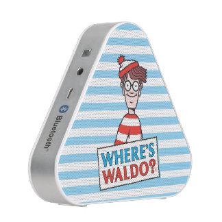 Là où est le logo de Waldo Haut-parleur Bluetooth
