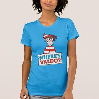 Là où est le logo de Waldo T-shirt