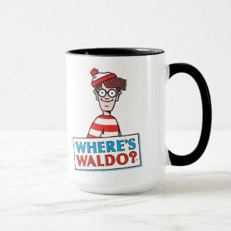 Là où est le logo de Waldo Tasse