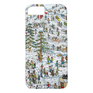 Là où est le ski de Waldo incline Coque iPhone 8/7