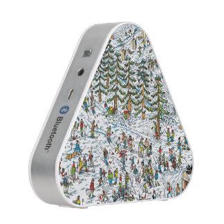 Là où est le ski de Waldo incline Haut-parleur Bluetooth