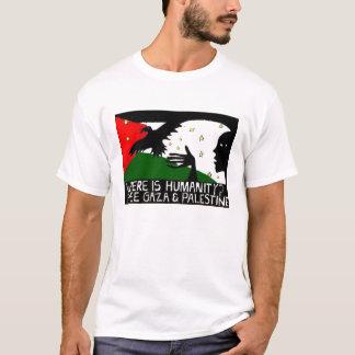Là où est le T-shirt Artsy d'humanité
