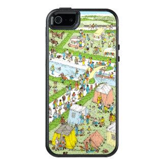 Là où est le terrain de camping de Waldo Coque OtterBox iPhone 5, 5s Et SE
