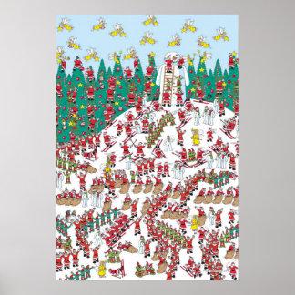 Là où est les fées de vacances de Waldo | et les Poster
