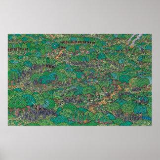 Là où est les forestiers le combat de Waldo | Poster