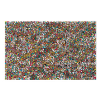 Là où est les gloutons avaler de Waldo | Poster