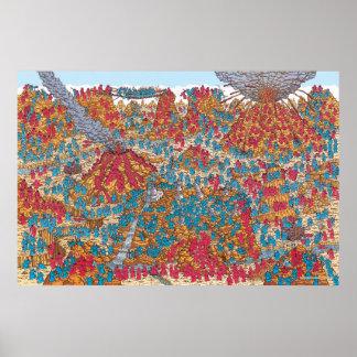 Là où est les moines la lutte de Waldo | Poster