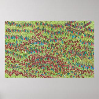 Là où est les nains rouges féroces de Waldo | Poster