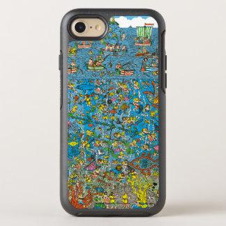 Là où est les plongeurs de mer profonde de Waldo Coque Otterbox Symmetry Pour iPhone 7
