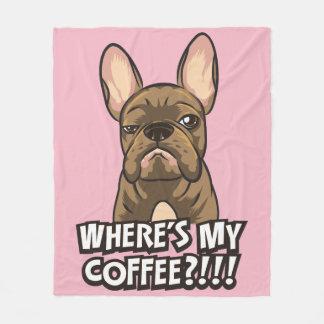 Là où est ma couverture de coton de café